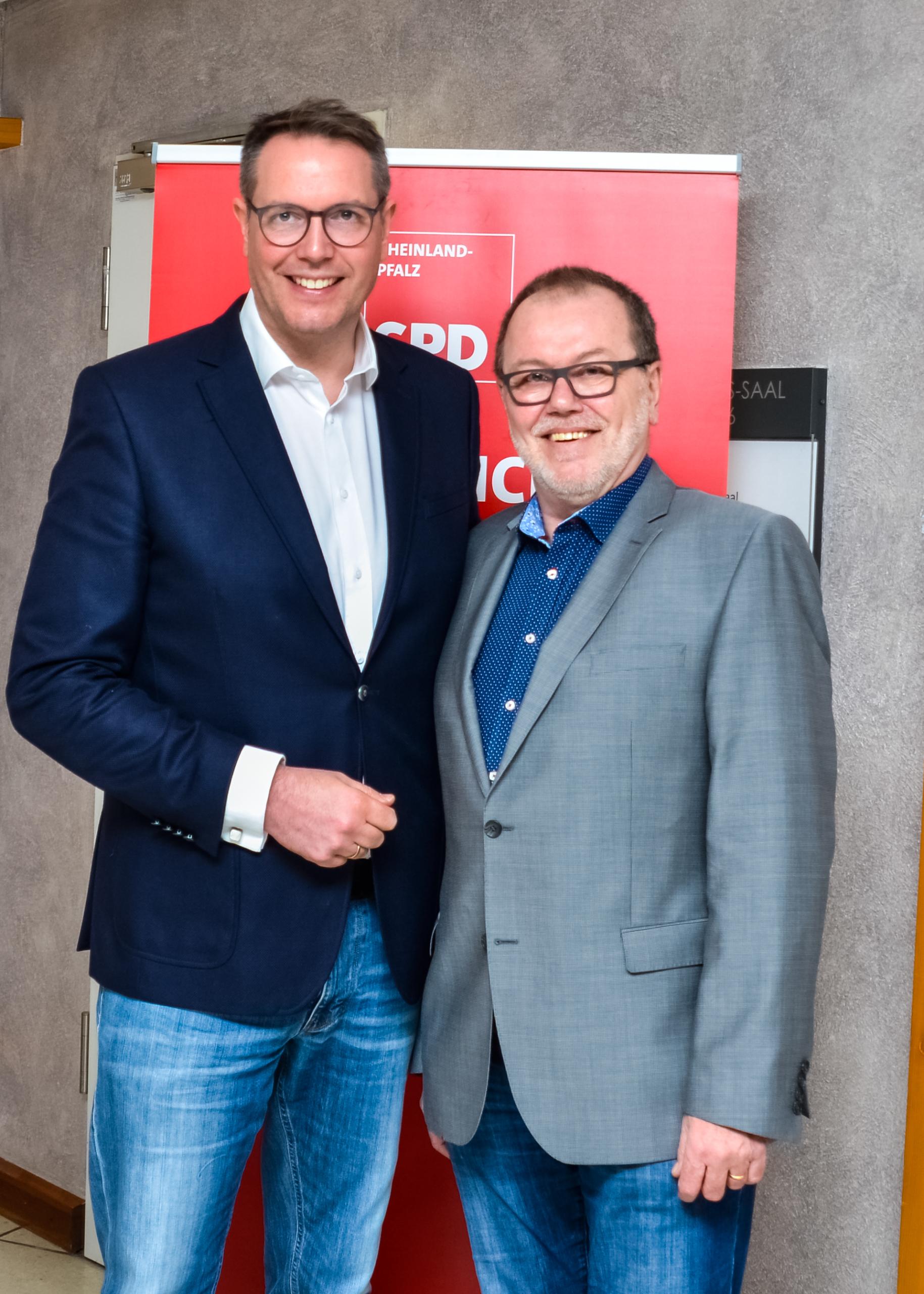 Alexander Schweitzer und Wolfgang Heitmann